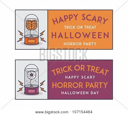 Happy Halloween Invitation Tickets
