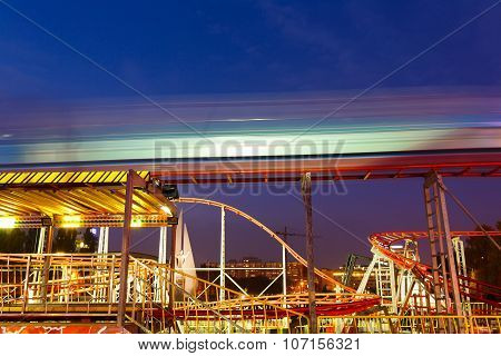 Carousels At Night