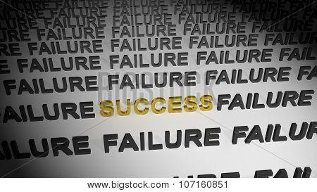 Success in failures