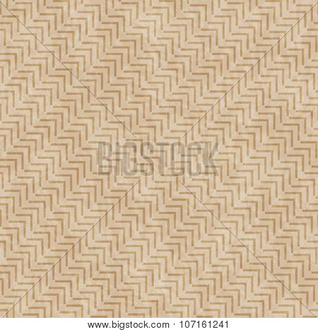 Brown Geometric Design Tile Pattern Repeat Background