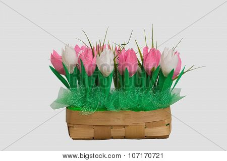 Bouquet Of Paper Tulips