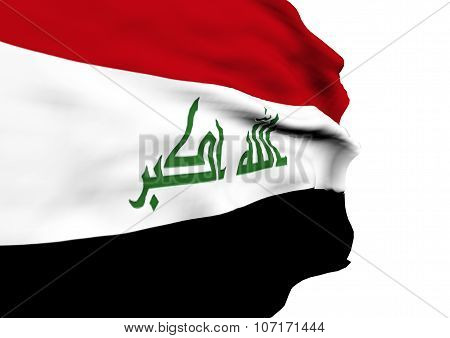 Image Of A Flag Of Iraq