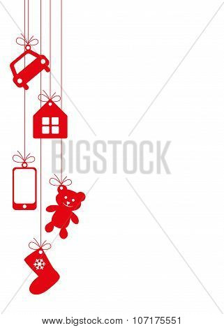 Hanging Gifts Background