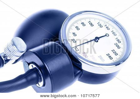 Medical Manometer Closeup