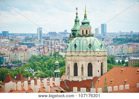St. Francis Church In Prague