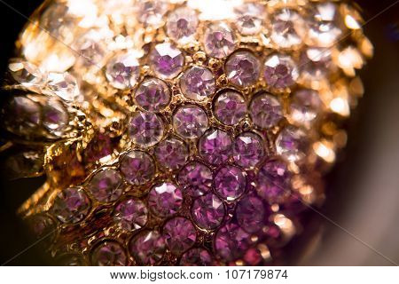 Diamonds And Gold Supermacro