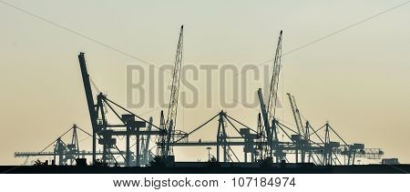 The Sea Cargo Port Skyline
