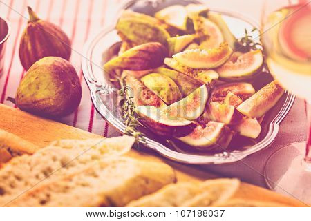 Fig Bruschetta