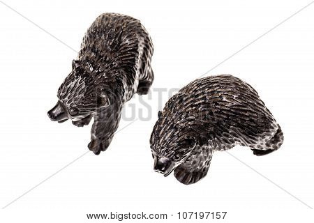 Two Bear Cubs Figurine