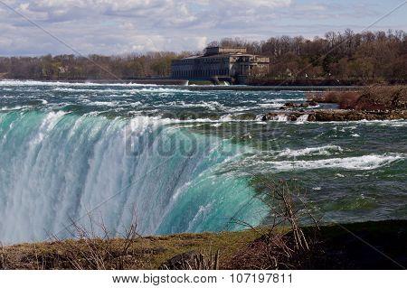 The Start Of The Niagara Falls