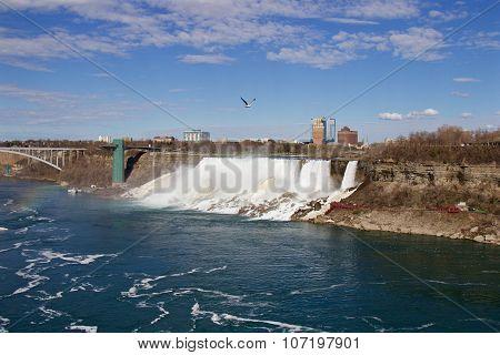 The Photo Of The Niagara Falls