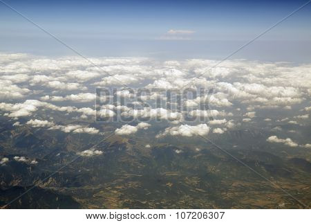 Heaven And Earth Sky Above Cloud.