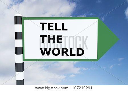 Tel The World Concept