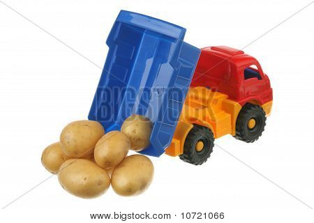 Potato in the truck
