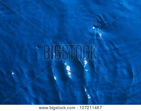 Blue Clear Water Flows
