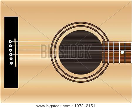 Acoustic Guitar Soundboard
