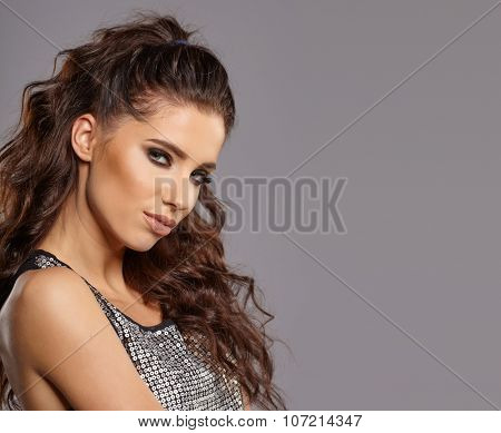 Glamour Portrait of sexy woman