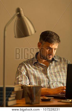 Handsome Working Man