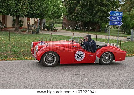 Classic Car Triumph Tr3 (1959)