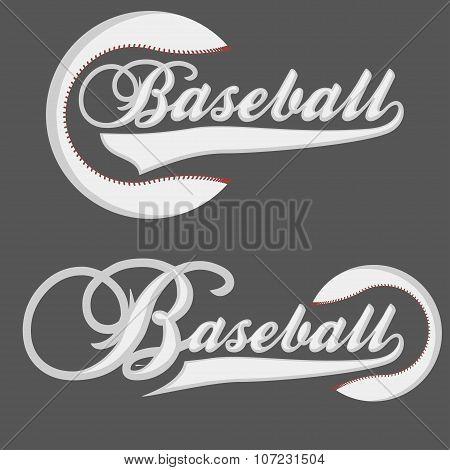 Baseball Logotpe