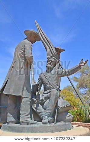 Tucson Mormon Battalion Monument