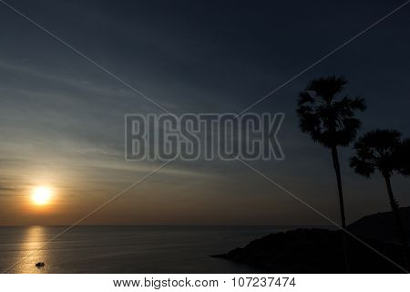 Sunset Phromthep Cape