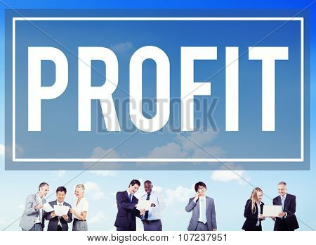 Profit Gain Financial Revenue Income Concept
