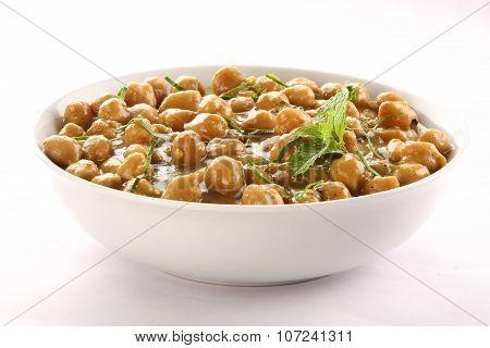 Chickpeas / Masala roasted chick peas,