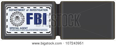 Leather Case For The Fbi Certificate