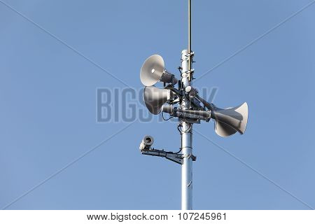 Tower of loudspeaker