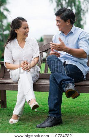 Talking Outside