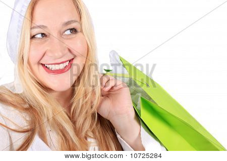 Blonde Lady Shopper