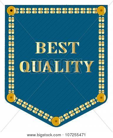 Best Quality Denim Patch