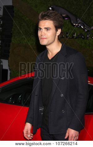 LOS ANGELES - MAY 2:  Paul Wesley at the Jaguar North America and Britweek Present