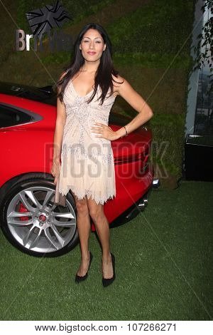 LOS ANGELES - MAY 2:  Tehmina Sunny at the Jaguar North America and Britweek Present