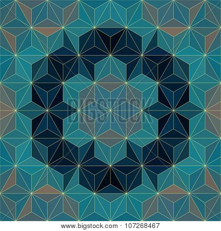 Vector Modern Psychedelic Pattern
