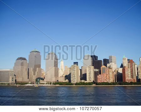 Lower Manhattan Financial District