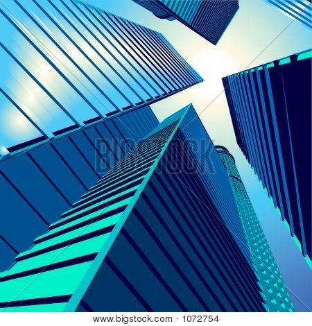 3D Vector City5