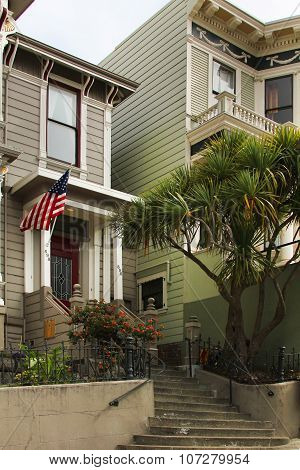 The Beautiful Facade In San Francisco