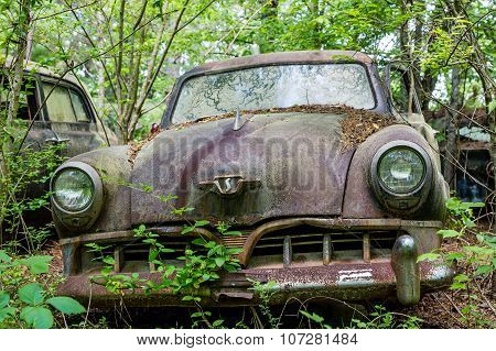 Old Rusty Studebaker