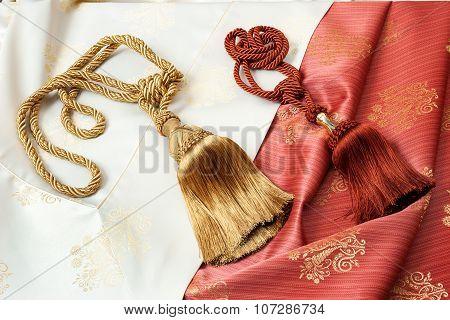 Curtain cords
