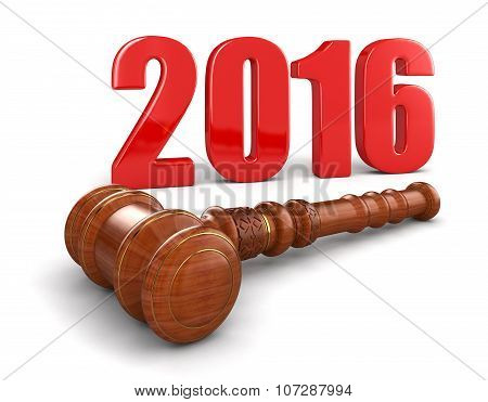 Wooden Mallet and 2016