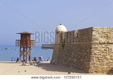 Caleta Beach. Cadiz.