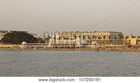 Caleta Beach And Antique Resort In Cadiz