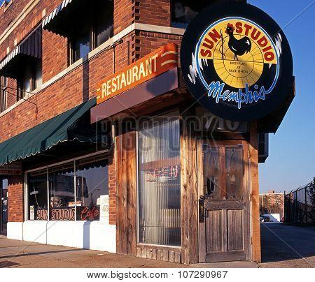 Sun Studio, Memphis.