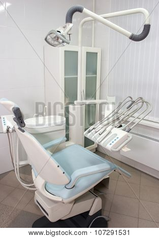 Modern dentist chair