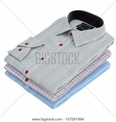 Classic colored men's shirts