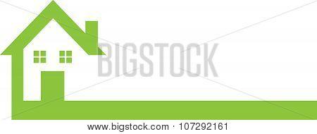 House Logo Green