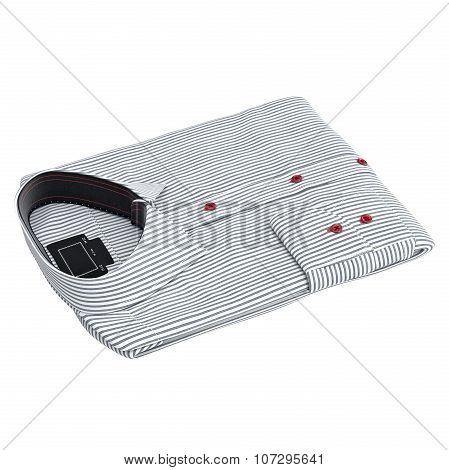 Classic men's striped shirt