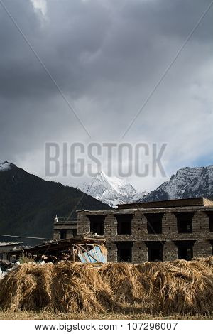 Yading Village At Daocheng
